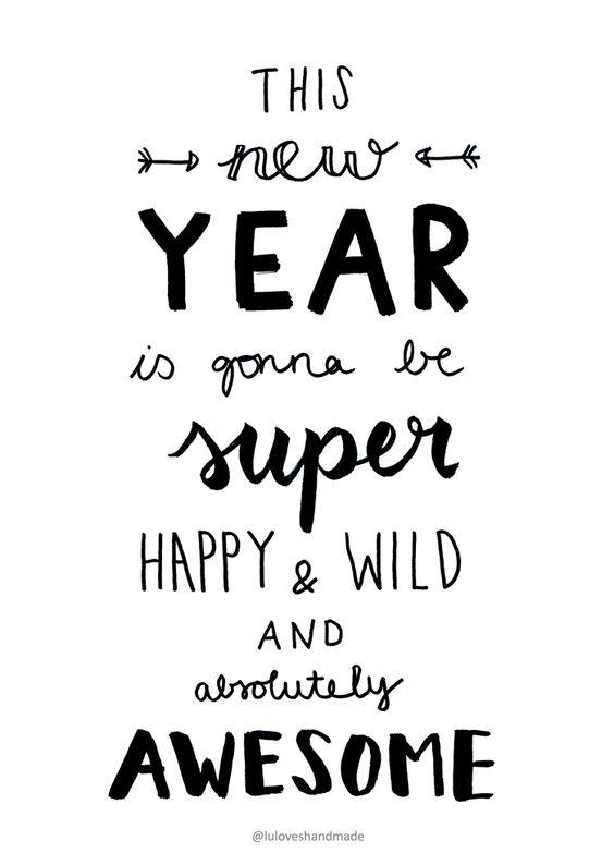 happy New Year - lulovehsandmade